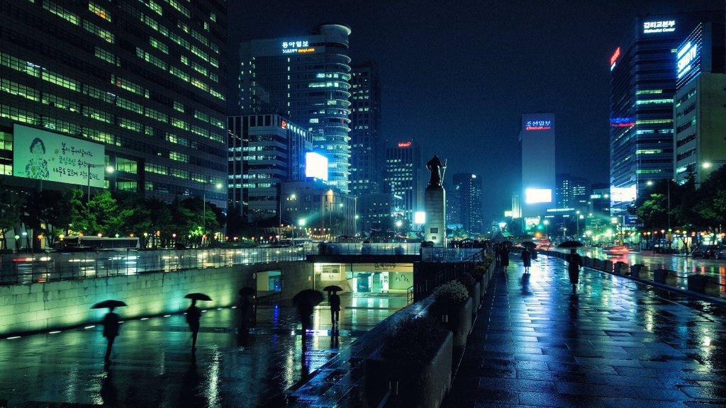 "Kim Namjoon's ""Seoul"" and My NewYork"